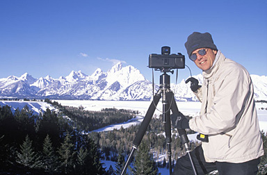 Shooting the Grand Tetons